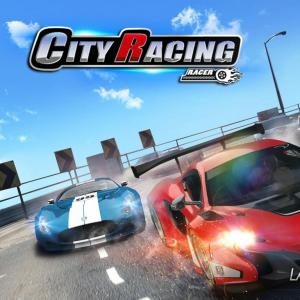 3D City Racer - Driving through the city with the hottest cars