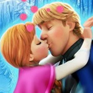 Anna And Kristoff Kiss - A fun game about love at friv best game