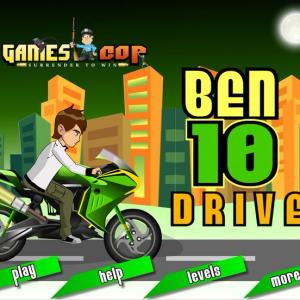 Ben10 Bike Ride - A fascinating race on the galaxy