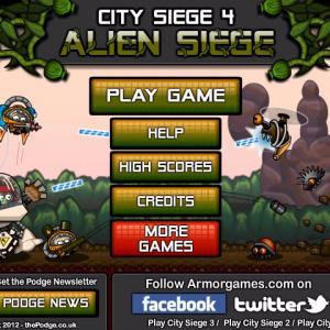 City Siege 4: Alien Siege - Friv 2018