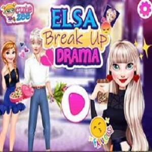 Elsa Breakup Game
