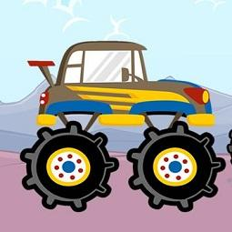 Fun Monster Trucks Jigsaw