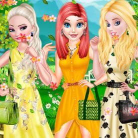 Princess Spring Fashion Color