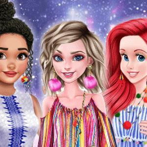 Princesses Pom Poms Fashion – The beautiful princesses