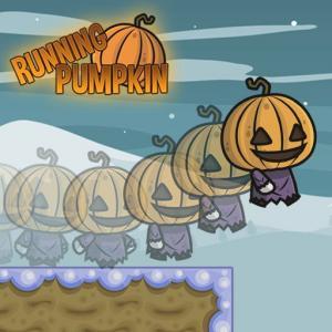 Running Pumpkin Game