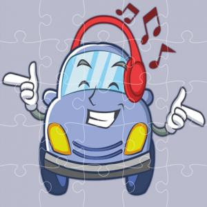 Smiling Cars Jigsaw