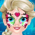 Baby Elsa Butterfly Face Art - The unique tattoo art