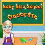 Baby Elsa School Decorate - Build your dream world