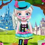 Elsa Selling Candy Day – The world of sweet candy
