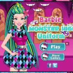 Barbie In Monster High- Fashion Festival for stylish girls