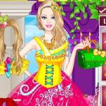 Barbie Princesses Dress Up - Become a professional stylist