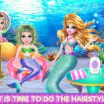 Crazy Mommy Mermaid Story - A great party underwater