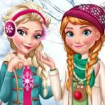 Elsa And Anna Winter Trends – Dress with chic