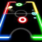 Glow Hockey Online - Who will score the most goals?