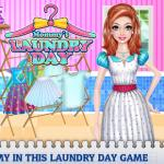 Mommy's Laundry Day – A day for housework!