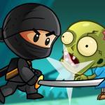 Ninja Kid vs Zombies - Kill all zombies
