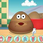 Pou Shave Time - Handsome potato has returned!