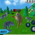 Wolf Simulator: Wild Animals